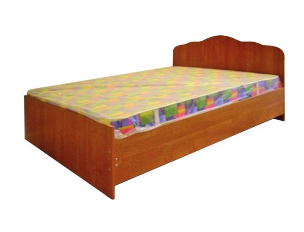 Кровать одинарнаяКровати<br>Размер: 95х203 В80<br><br>Материалы: ЛДСП, кромка ПВХ<br>Полный размер (ДхВхГ): 95х203х80<br>Спальное место: 90х200<br>Вес товара (кг): 54<br>Комплектация: Матрас в стоимость не входит<br>Цвет: Ольха, орех<br>Примечание: Доставляется в разобранном виде<br>Изготовление и доставка: 10-14 дней<br>Количество упаковок: 2 шт<br>Условия доставки: Бесплатная по Москве до подъезда<br>Условие оплаты: Оплата наличными при получении товара<br>Доставка по МО (за пределами МКАД): 30 руб./км<br>Доставка в пределах ТТК: Доставка в центр Москвы осуществляется ночью, с 22.00 до 6.00 утра<br>Подъем на грузовом лифте: 500 руб.<br>Подъем без лифта: 250 руб./этаж включая первый<br>Сборка: 1000 руб.<br>Гарантия: 12 месяцев<br>Производство: Россия<br>Производитель: МК Премиум