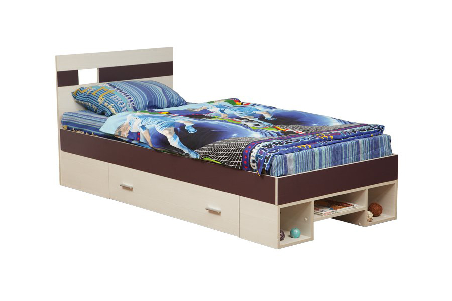 Кровать одинарная Некст 06.296