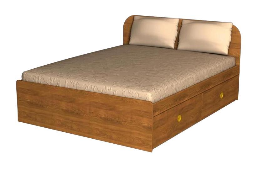 Кровать с ящиками Грос