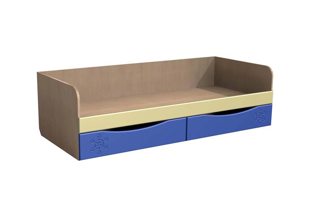 Кровать с ящиками Капитошка ДК-11К