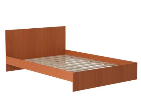 Кровать прямая спинка