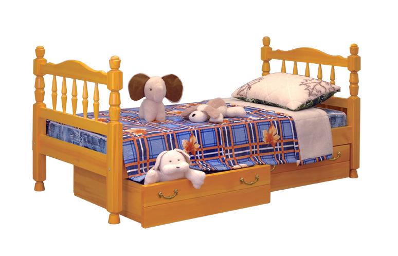 Деревянная кровать Точеная №3
