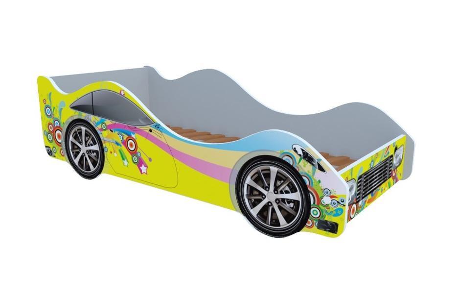 Кроватка Радуга кровать машина кровати машины радуга m056
