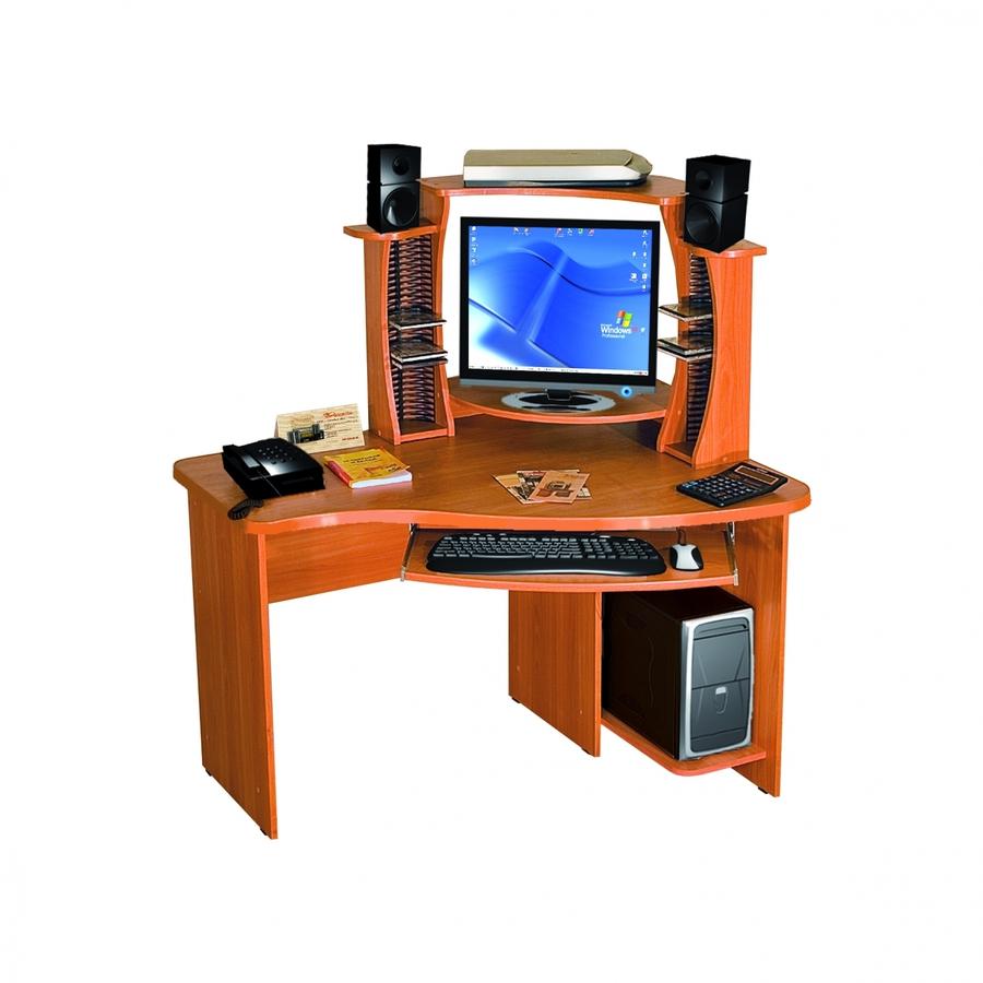 Компьютерный стол с надстройкой КС-12-1 + КН-2