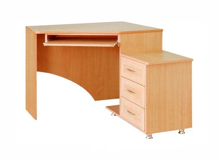 Компьютерный угловой стол Практик-125