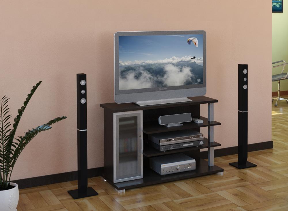 Тумба ВТ 10-49Тумбы под телевизор<br>размер: 990х450 В655<br><br>Материалы: ЛДСП, кромка ПВХ<br>Полный размер (ДхГхВ): 990х450х655<br>Габарит монитора: 95 см (диагональ от 32 до 42)<br>Вес товара (кг): 40<br>Цвет: Венге<br>Изготовление и доставка: 2-3 дня<br>Условия доставки: Бесплатная по Москве до подъезда<br>Условие оплаты: Оплата наличными при получении товара<br>Доставка по МО (за пределами МКАД): 30 руб./км<br>Подъем на грузовом лифте: 200 руб.<br>Гарантия: 12 месяцев<br>Производство: Россия, г. Москва<br>Производитель: ВасКо (Дик)