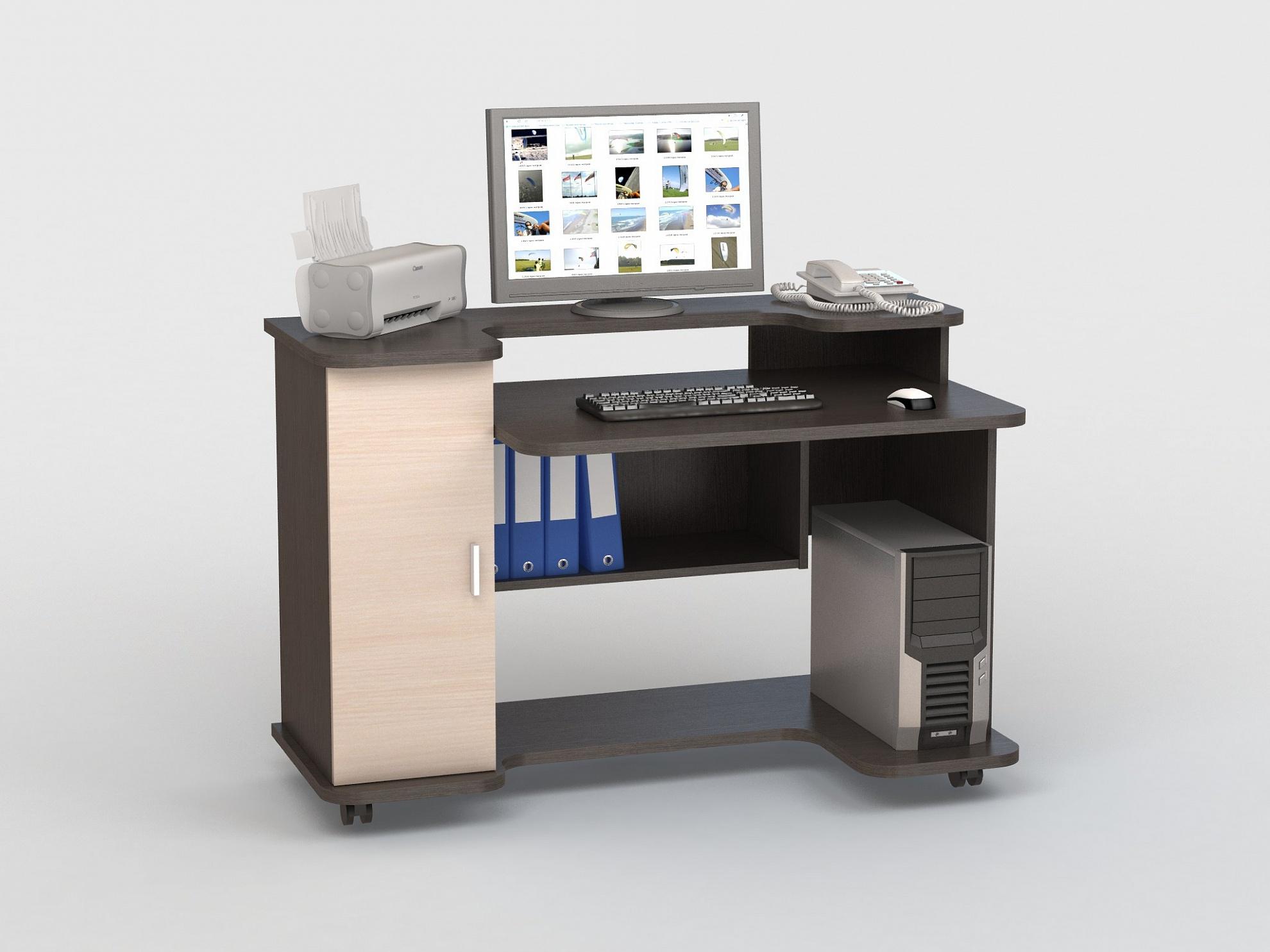 Компьютерный стол КС 20-12 компьютерный стол кс 20 16м3