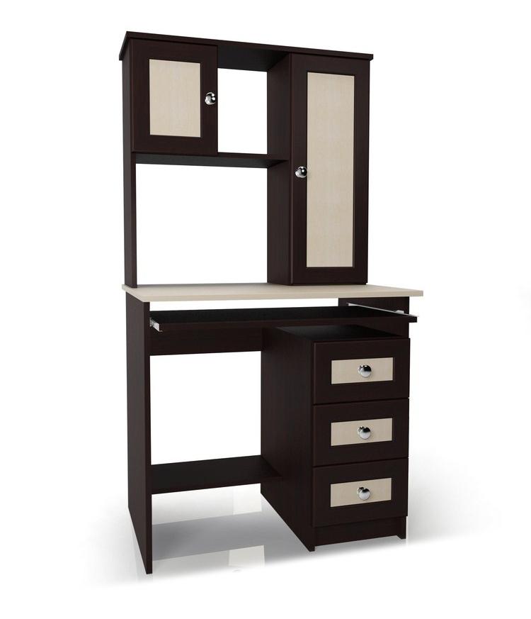 Компьютерный стол Мебелайн-36Компьютерные столы<br>Размер: 800/600 В1520<br><br>Материалы: ЛДСП, кромка ПВХ, рамка МДФ<br>Полный размер (ДхГхВ): 800х600х1520<br>Примечание: Доставляется в разобранном виде<br>Изготовление и доставка: 5-7 дней, дни доставок среда и суббота<br>Условия доставки: Бесплатная по Москве до подъезда<br>Условие оплаты: Оплата наличными при получении товара<br>Доставка по МО (за пределами МКАД): 30 руб./км<br>Доставка в пределах ТТК: Доставка в центр Москвы осуществляется ночью, с 22.00 до 6.00 утра<br>Подъем на лифте: 300 руб.<br>Подъем без лифта: 150 руб./этаж, включая первый<br>Сборка: 1000 руб.<br>Гарантия: 12 месяцев<br>Производство: Россия<br>Производитель: Мебелайн