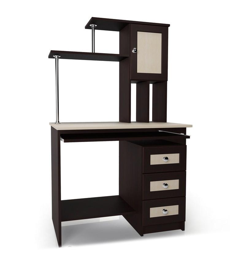 Компьютерный стол Мебелайн-37Компьютерные столы<br>Размер: 800/600 В1520<br><br>Материалы: ЛДСП, кромка ПВХ, рамка МДФ<br>Полный размер (ДхГхВ): 800х600х1520<br>Примечание: Доставляется в разобранном виде<br>Изготовление и доставка: 5-7 дней, дни доставок среда и суббота<br>Условия доставки: Бесплатная по Москве до подъезда<br>Условие оплаты: Оплата наличными при получении товара<br>Доставка по МО (за пределами МКАД): 30 руб./км<br>Доставка в пределах ТТК: Доставка в центр Москвы осуществляется ночью, с 22.00 до 6.00 утра<br>Подъем на лифте: 300 руб.<br>Подъем без лифта: 150 руб./этаж<br>Сборка: 1000 руб.<br>Гарантия: 12 месяцев<br>Производство: Россия<br>Производитель: Мебелайн