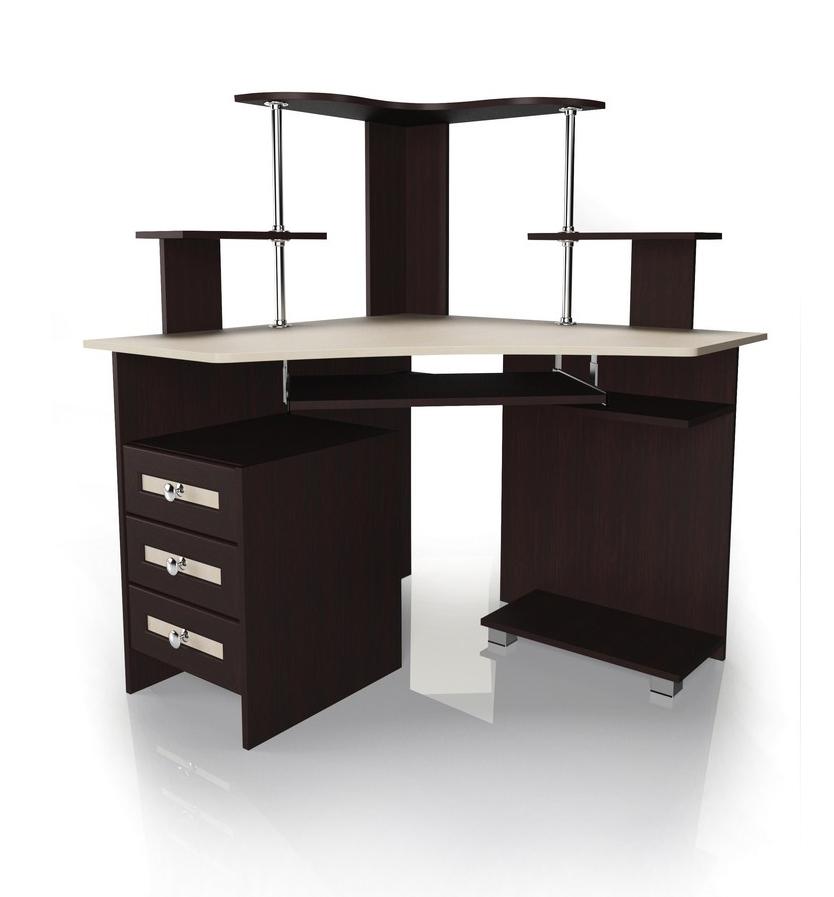 Компьютерный стол Мебелайн-34Компьютерные столы<br>Размер: 1000/1000 В1275<br><br>Материалы: ЛДСП, кромка ПВХ, рамка МДФ<br>Полный размер: 1000/1000 В1275<br>Примечание: Доставляется в разобранном виде<br>Изготовление и доставка: 5-7 дней, дни доставок среда и суббота<br>Условия доставки: Бесплатная по Москве до подъезда<br>Условие оплаты: Оплата наличными при получении товара<br>Доставка по МО (за пределами МКАД): 30 руб./км<br>Доставка в пределах ТТК: Доставка в центр Москвы осуществляется ночью, с 22.00 до 6.00 утра<br>Подъем на лифте: 300 руб.<br>Подъем без лифта: 150 руб.<br>Сборка: 1000 руб.<br>Гарантия: 12 месяцев<br>Производство: Россия<br>Производитель: Мебелайн
