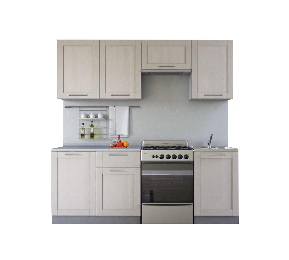 Кухня Симпл Массив 2100