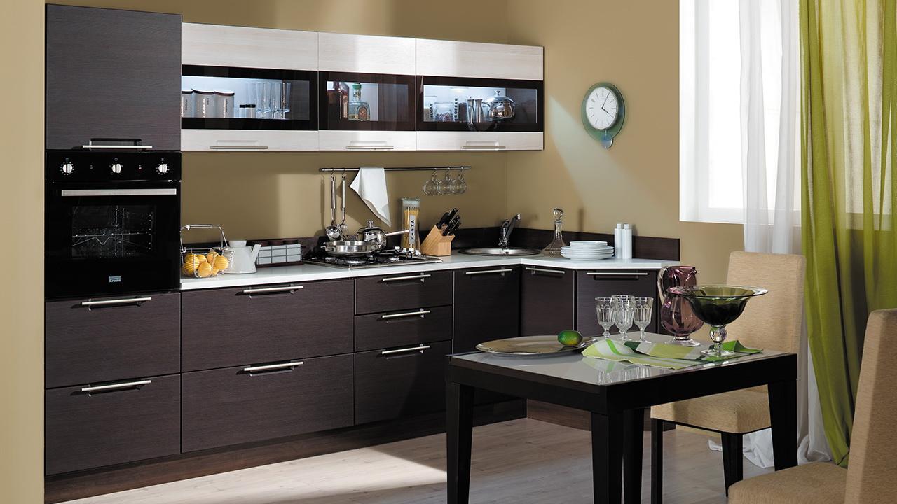 Кухонный гарнитур Латте 2 №2 кухонный гарнитур трия ассорти вишня 2 240 х 210 см