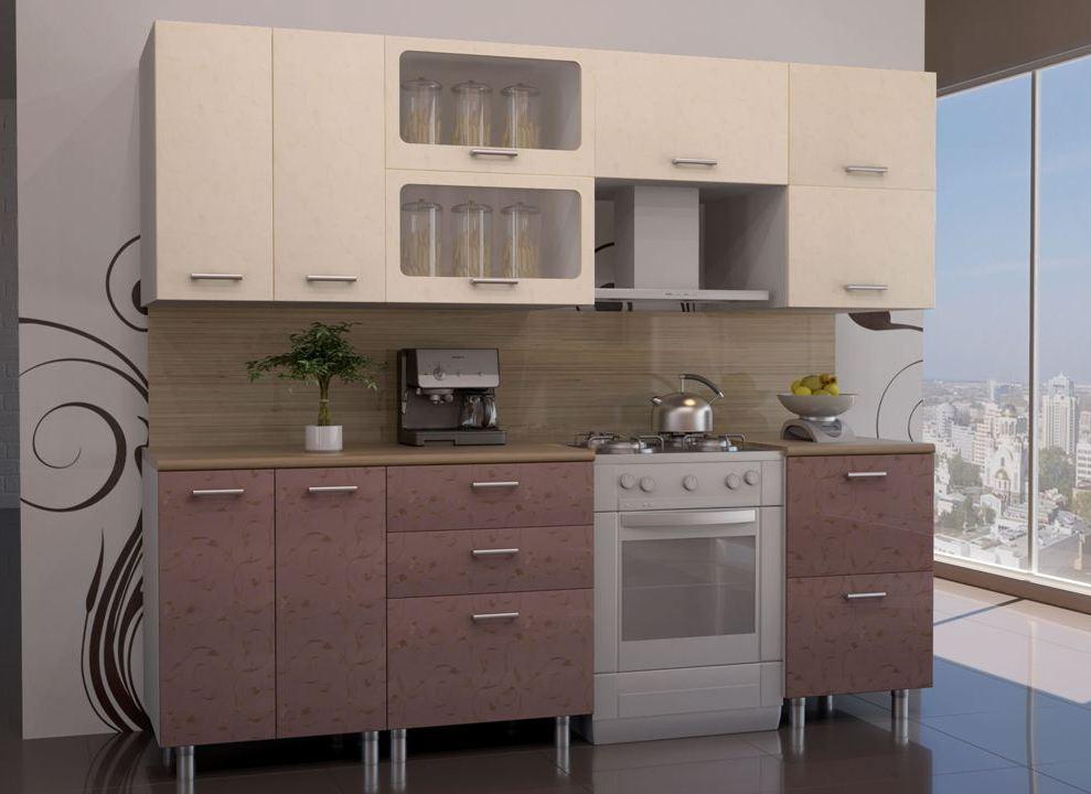 Кухонный гарнитур Венеция-Лаванда 1800