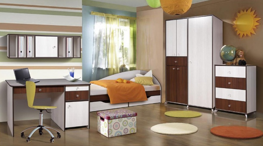 Детская комната Лагуна Комплектация №2 детская комната мдк 4 13 комплектация 2