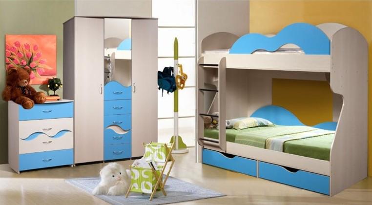 Детская комната Лагуна Комплектация №1 двухъярусная детская кровать such as china 1 5 1 2