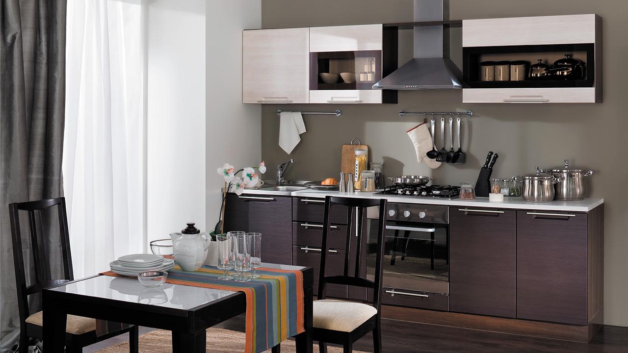 Кухонный гарнитур Латте-2 №1 кухонный гарнитур трия ассорти вишня 2 240 х 210 см