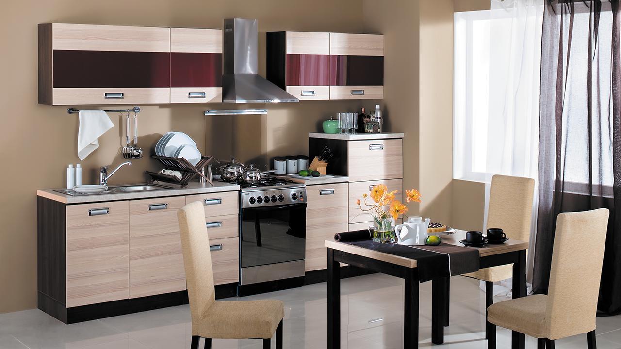 Кухонный гарнитур Латте-1 №1 кухонный гарнитур трия ассорти вишня 2 240 х 210 см