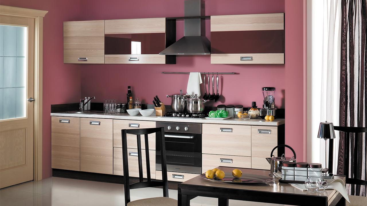Кухонный гарнитур Латте-1 №2 кухонный гарнитур трия ассорти вишня 2 240 х 210 см
