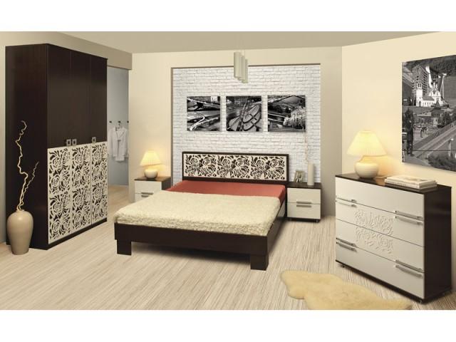 Модульная спальня Лаура капитан детская и взрослая модульная мебель мдф