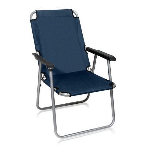 Кресло складное Пикник-1Металлическая мебель<br>Размер: 54х56 В82<br><br>Артикул: LFT-3470/А<br>Каркас: Труба - сталь D22<br>Полный размер: 54х56 В82<br>Вес товара (кг): 3,5<br>Цвет: Темно-синий<br>Ткань: Полиэстер с ПВХ покрытием<br>Максимальная нагрузка: 120 кг<br>Изготовление и доставка: 2-3 дня<br>Условия доставки: Бесплатная по Москве до подъезда<br>Условие оплаты: Оплата наличными при получении товара<br>Производитель: Афина Мебель