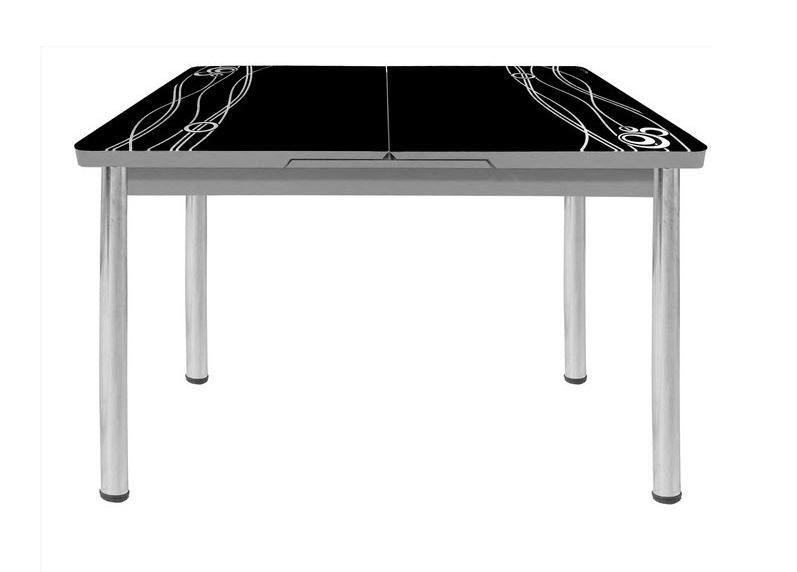 Стол обеденный М16Обеденные столы<br>Размер: 120/150х80 В75<br><br>Механизм: Раскладной<br>Материалы: Хромированный каркас, столешница - закаленное стекло с узором<br>Полный размер: 120/150х80 В75<br>Вес товара (кг): 36,6 кг<br>Цвет: Белый, крем, черный<br>Изготовление и доставка: 2-3 дня<br>Условия доставки: Бесплатная по Москве до подъезда<br>Условие оплаты: Оплата наличными при получении товара<br>Подъем на лифте: 500 руб<br>Гарантия: 12 месяцев<br>Производство: Турция