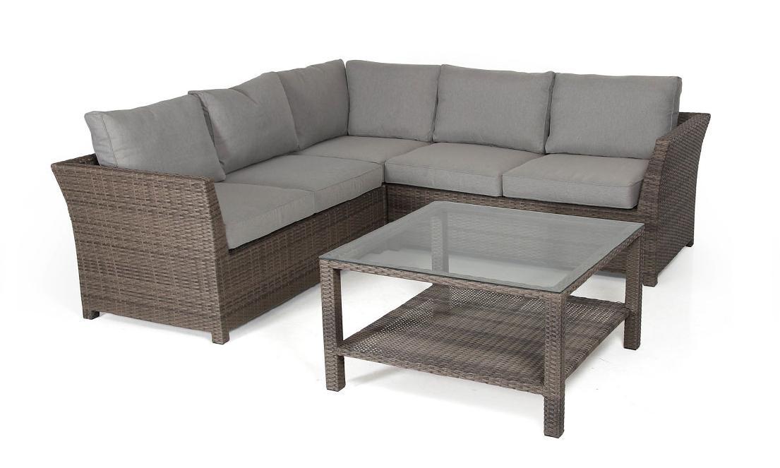 Комплект плетеной мебели Madison-1 brown Brafab