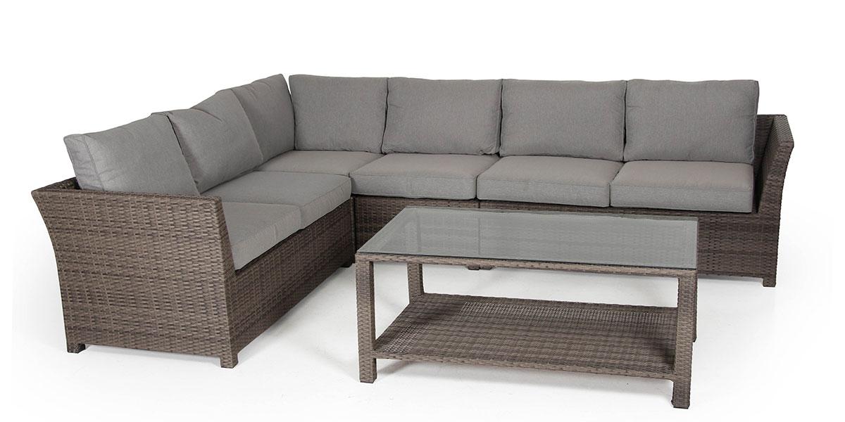 Комплект плетеной мебели Madison-2 brown Brafab