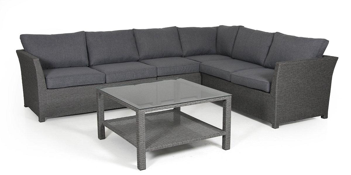 Комплект плетеной мебели Madison-2 grey Brafab