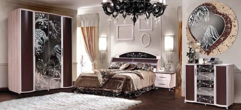 Модульная спальня Магия Комплектация №2 модульная спальня магия комплектация 2