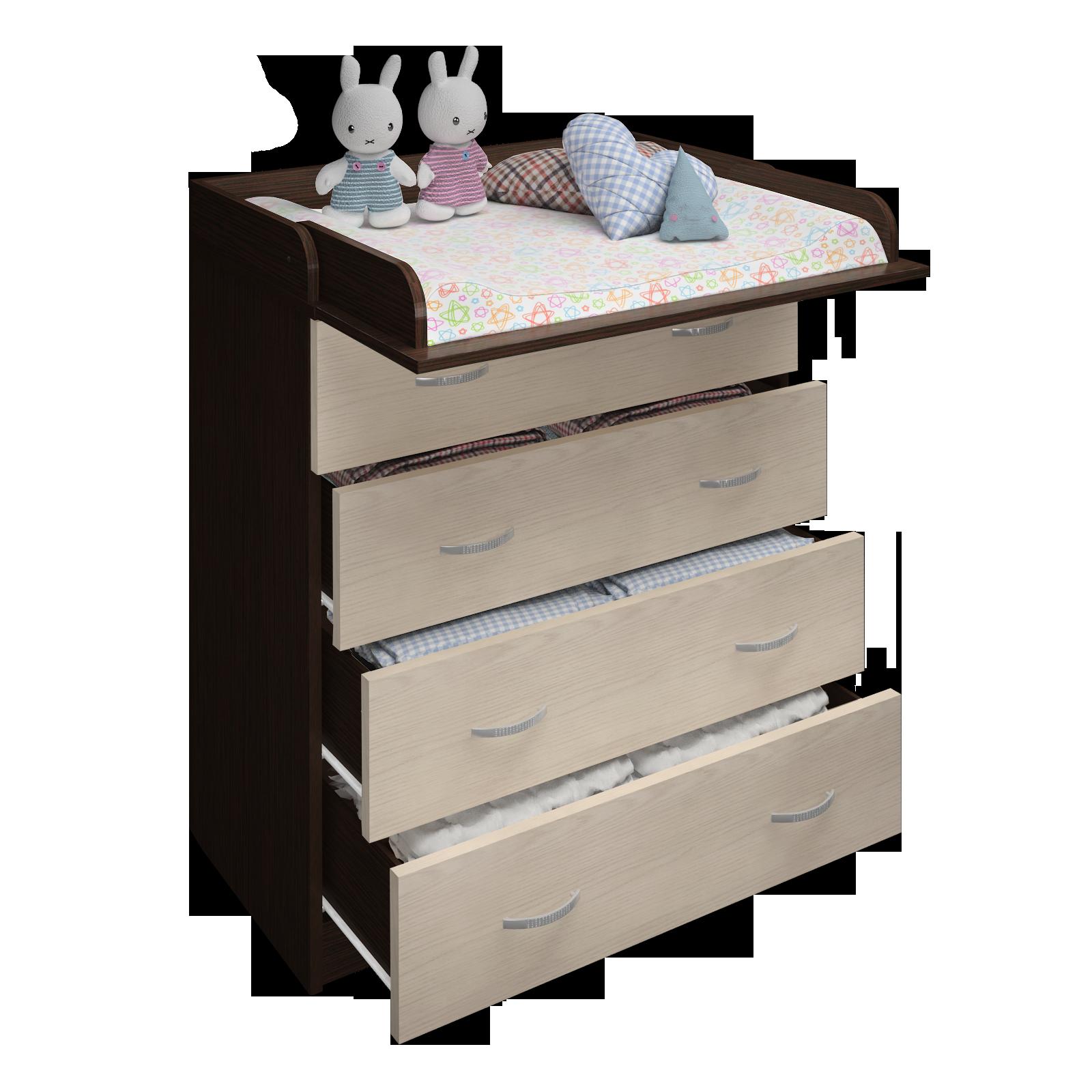 Комод пеленальный Малыш-11