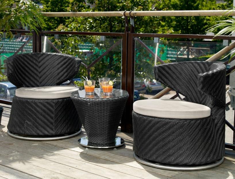 Комплект плетеной мебели Mandarin Brafab