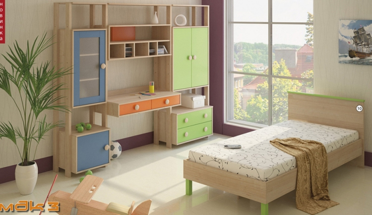 Детская МДК 3 детская комната мдк 4 13 комплектация 2