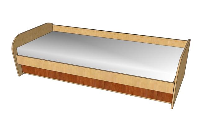 Кровать Ассоль А-2