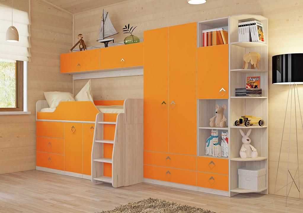 Фото Модульная детская комната Аватар №5 ГН-201.005