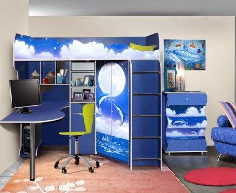 Детская комната Дельфин Комплектация №3 advesta детская комната advesta champion 3 предмета