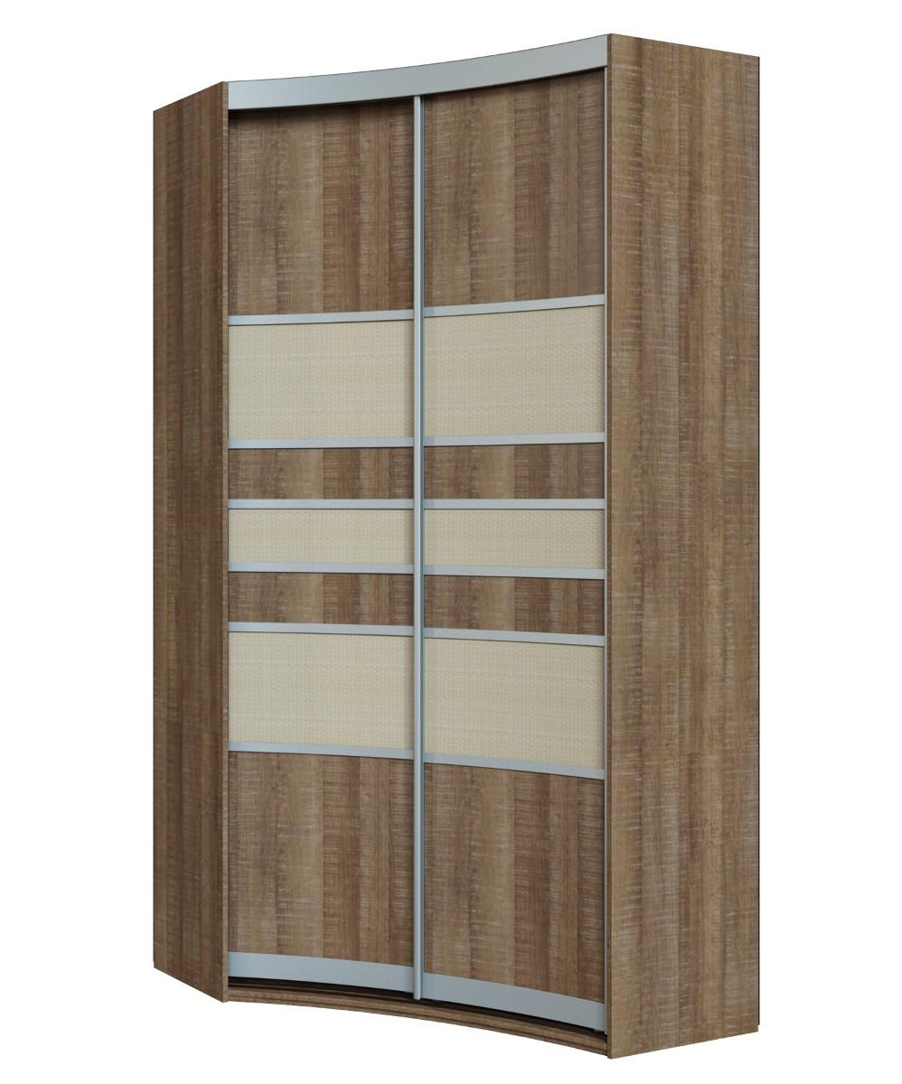 Радиусный шкаф-купе Севилья 1-1 шкаф купе мебелайн 1 с фотопечатью еда