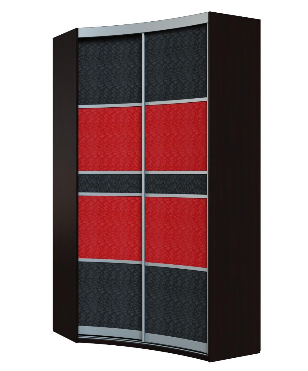 Радиусный шкаф-купе Севилья 1-2