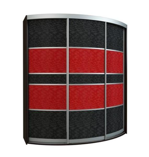 Радиусный шкаф-купе Севилья 3-2