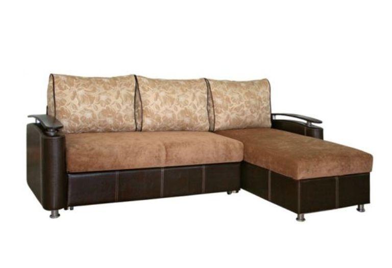 Угловой диван с оттоманкой Оникс 3