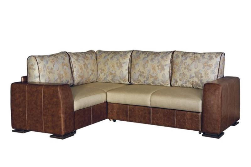 Угловой диван Оникс 5 с широкими подлокотниками