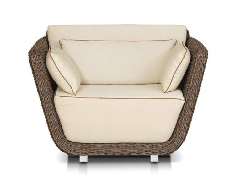 Плетеное кресло Ривьера плетеное кресло madison grey