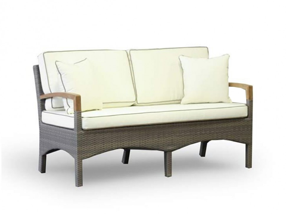 Двухместный диван из ротанга Верона