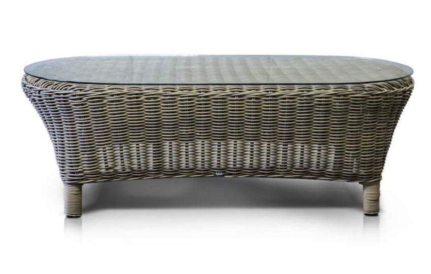 Столик из ротанга РиминиПлетеная мебель из искусственного ротанга<br>Размер: 120х61 В41<br><br>Артикул: 645881<br>Материалы: Искусственный ротанг, стекло закаленное - 5 мм<br>Каркас: Алюминий<br>Полный размер (ДхГхВ): 120х61 В41<br>Цвет: Cеро-коричневый<br>Изготовление и доставка: 2-3 дня<br>Условия доставки: Бесплатная по Москве до подъезда<br>Условие оплаты: Оплата наличными при получении товара<br>Производство: Китай<br>Производитель: 4sis