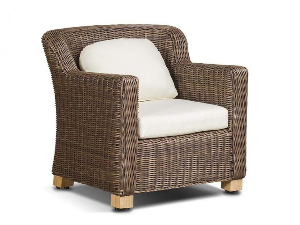 Плетеное кресло Либрари плетеное кресло madison grey