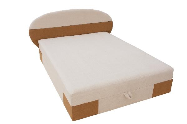Кровать Мишель 1Кровати<br>Размер: 2005х140<br><br>Артикул: dns0010-1<br>Каркас: Фанера, массив сосны, ДВП, ДСП<br>Полный размер: 2005х140<br>Спальное место: 190х140<br>Наполнитель: ППУ высокой плотности (Пенополиуретан)<br>Комплектация: Ящик для белья<br>Ткань: Astra (евро-шенилл) цвет бежевый+коричневый/синий<br>Примечание: Матрас входит в стоимость<br>Условия доставки: Бесплатная по Москве до подъезда<br>Условие оплаты: Оплата наличными при получении товара<br>Подъем на грузовом лифте: 300 руб.<br>Подъем без лифта: 150 руб./этаж<br>Гарантия: 12 месяцев<br>Производство: Россия<br>Производитель: ТД РОШЕ
