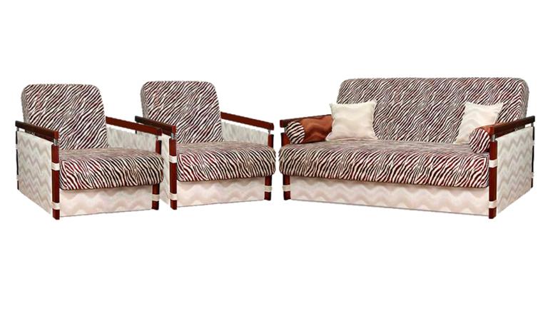 Комплект мягкой мебели МексКомплекты мягкой мебели<br>Размер: диван: 205х105 В100 (сп. м. 132х90), кресло: 75х96 В100 (сп. м.  60х190)<br><br>Механизм: Диван книжка, кресла не раскладные<br>Каркас: Деревянный<br>Полный размер: 205х105 В100<br>Спальное место: 132х90<br>Размер кресла: 75х96 В100<br>Примечание: Стоимость указана по минимальной категории ткани<br>Изготовление и доставка: 8-10 дней<br>Условия доставки: Бесплатная по Москве до подъезда<br>Условие оплаты: Оплата наличными при получении товара<br>Доставка по МО (за пределами МКАД): 30 руб./км<br>Доставка в пределах ТТК: Доставка в центр Москвы осуществляется ночью, с 22.00 до 6.00 утра<br>Подъем на грузовом лифте: 1100 руб.<br>Подъем без лифта: 550 руб./этаж<br>Сборка: 700 руб.<br>Гарантия: 12 месяцев<br>Производство: Россия<br>Производитель: Mebelus