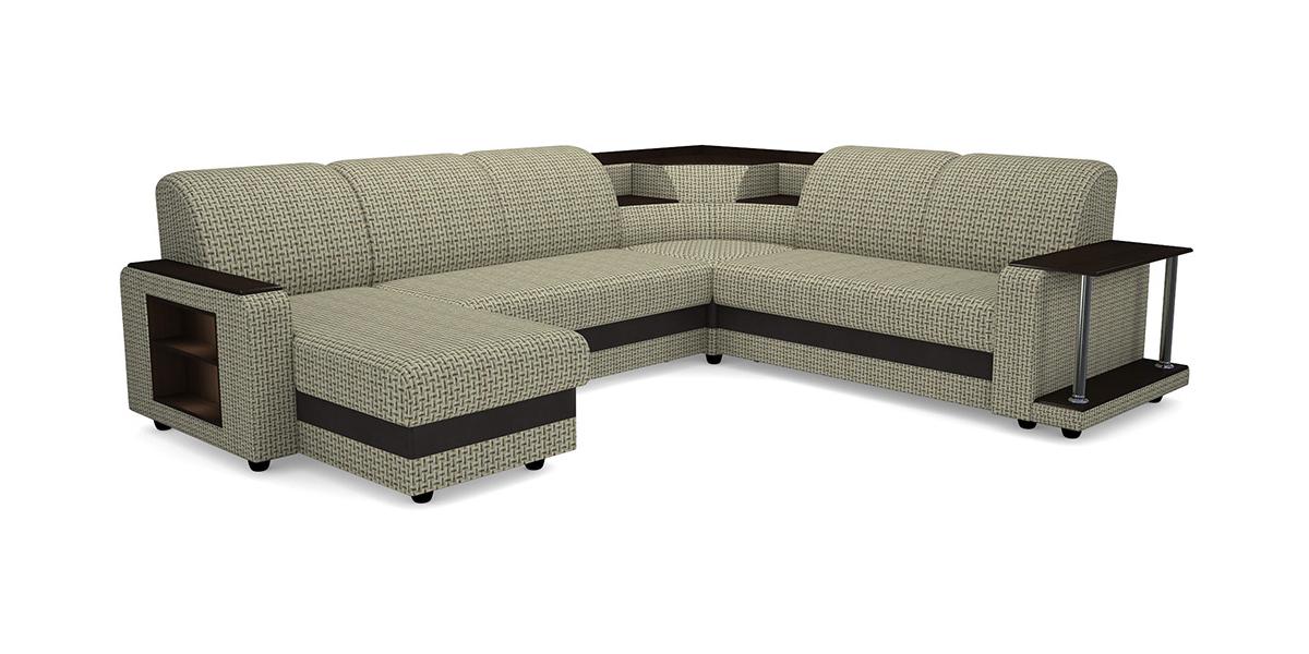 Угловой модульный диван Виза 01