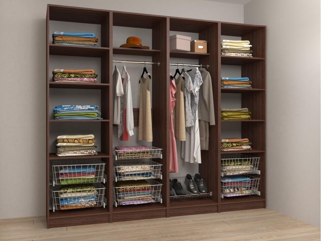 Модульная гардеробная Alexa-8 модульная гардеробная система диван ру дели 8 белый