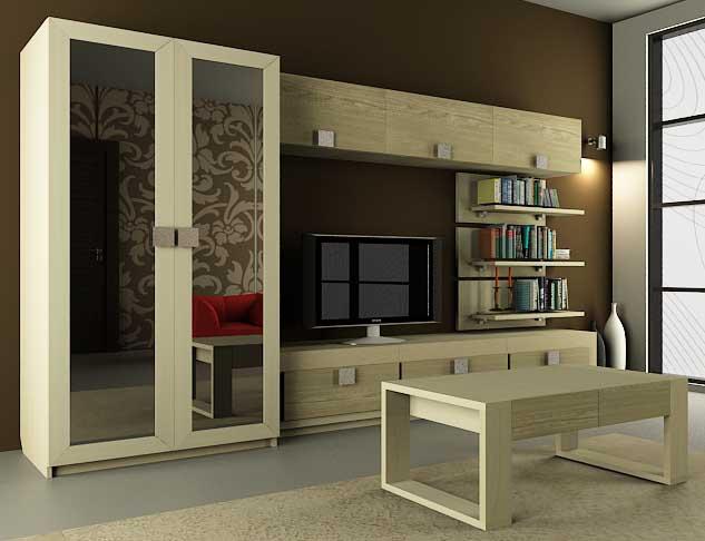 Модульная гостиная Александрия-4