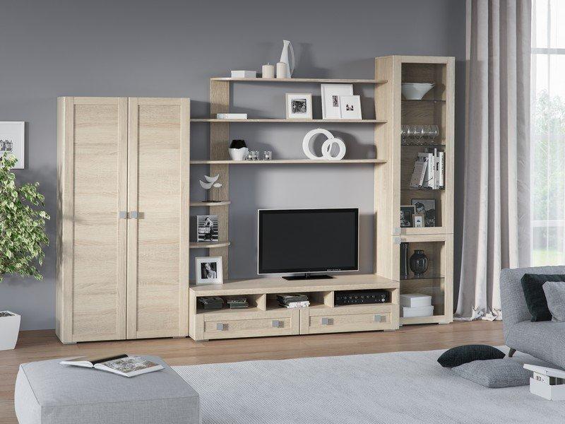 Модульная гостиная Корсика Композиция 2 модульная мебель композиция 7 б